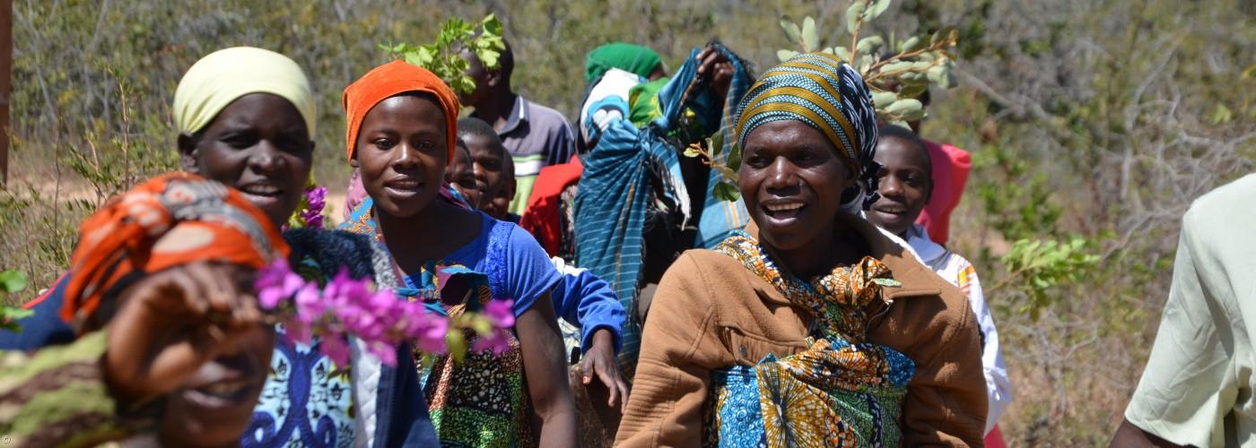 Frauengruppe in Ikwete